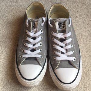 Converse all star grey tennis shoes women's 7